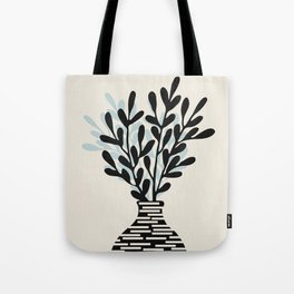 Still Life with Vase and Tree Branches Tote Bag