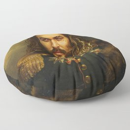 Jason Momoa - replaceface Floor Pillow