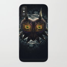 Epic Pure Evil of Majora's Mask iPhone Case