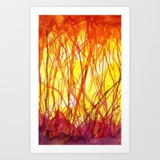 Hot Heat Ha! Art Print