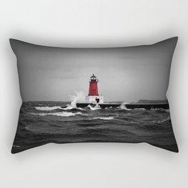 Lighthouse Glow Rectangular Pillow