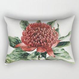 Waratah Flower Rectangular Pillow