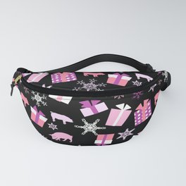 Piggy Pattern Presents Fanny Pack
