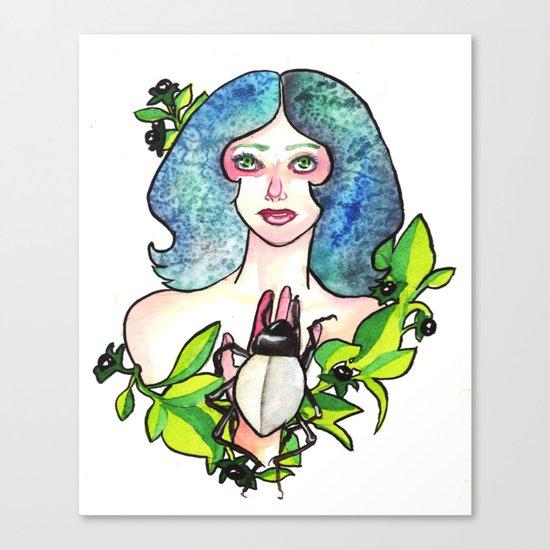 Belladonna Canvas Print