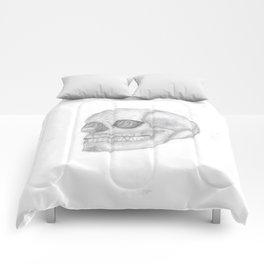 Death Skull (original work of 8yr old boy) Comforters