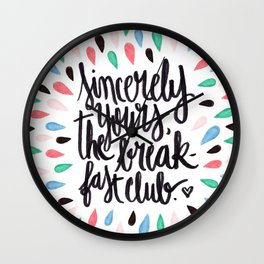 Does that answer your question? Wall Clock