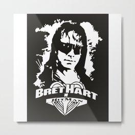 Bret Heart Metal Print