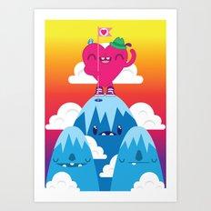 Love on Top Art Print