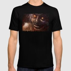 Brains! 2X-LARGE Black Mens Fitted Tee