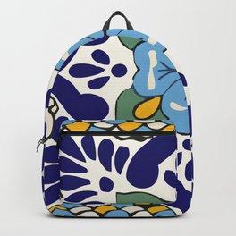 Talavera Blue Green Mosaic Backpack