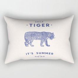 Smile Tiger, it's Summer Rectangular Pillow