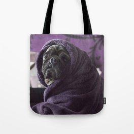 Portrait of a Pug Tote Bag