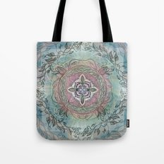 the four directions, a medicine wheel Tote Bag