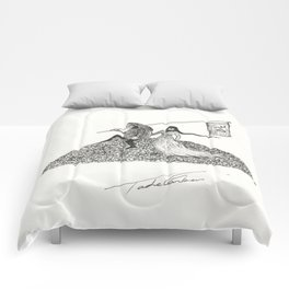 Mr. Please and Mrs. Papal Bull Comforters