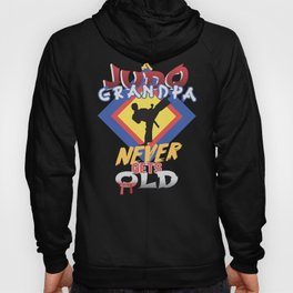 Grandfather Family Fun Judo Grandpa Martial Arts Hoody