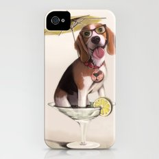 Tessi the party Beagle iPhone (4, 4s) Slim Case