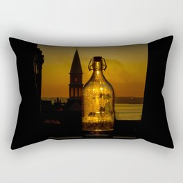 Morning thirst Rectangular Pillow
