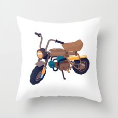 #1 honda z50 Throw Pillow