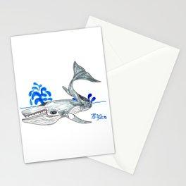 Minke Whale Stationery Cards