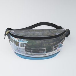 Lobster Boat Beadnell Fanny Pack