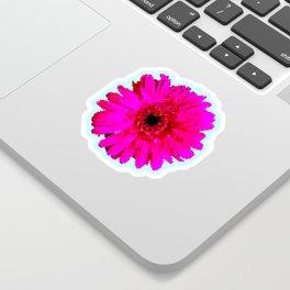 Pixel Art Flower Pattern Sticker