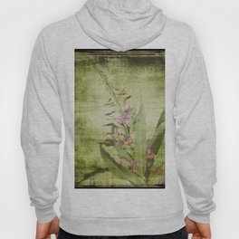 Decorative Green Floral Hoody