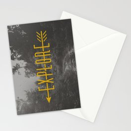 Explore (Arrow) Stationery Cards