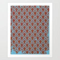 leafpttrn Art Print