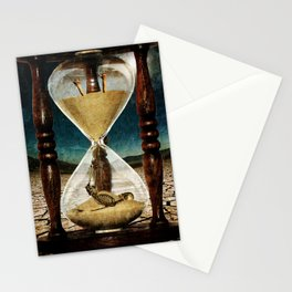 Sands of Time ... Memento Mori Stationery Cards