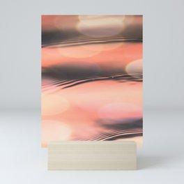 Sunset on Water Mini Art Print