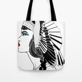 Queen of The Nile. Tote Bag