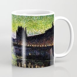 The Louvre and Pont du Carrousel at Night by Maximilian Luce Coffee Mug