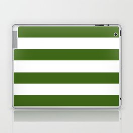 Simply Stripes in Jungle Green Laptop & iPad Skin
