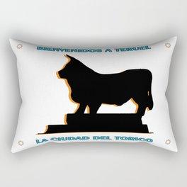 Teruel, la ciudad del Torico Rectangular Pillow