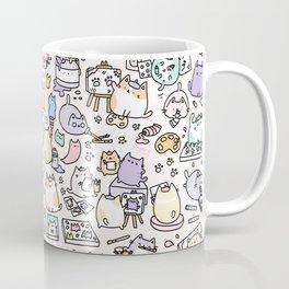 Artsy Cats Coffee Mug