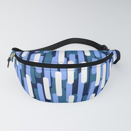 Fast Capsules Vertical Blue Fanny Pack