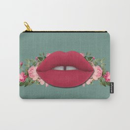 Lips n' Roses Carry-All Pouch