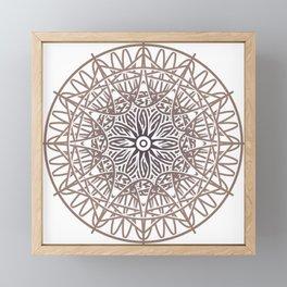 Mystical sign 04 Framed Mini Art Print