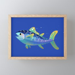 Atlantic Bluefin Tuna Framed Mini Art Print