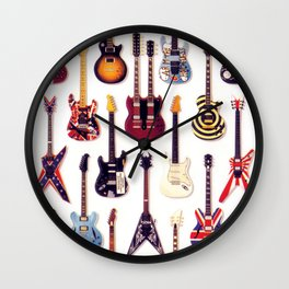 Guitar Life Wall Clock