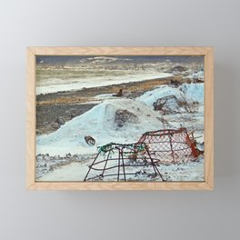 Crab Cages and The Cove Framed Mini Art Print