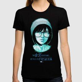 Blue and Black T-shirt