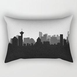 City Skylines: Vancouver Rectangular Pillow