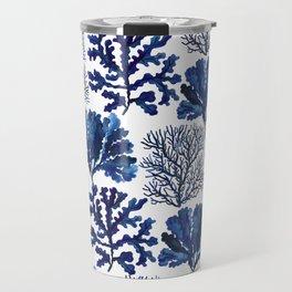 Sea life collection pattern Travel Mug