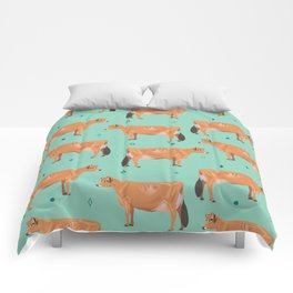 Jerseys - Pale Green // Viridian Comforters