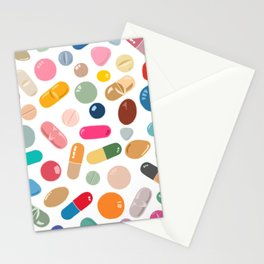 Sunny Pills Stationery Cards