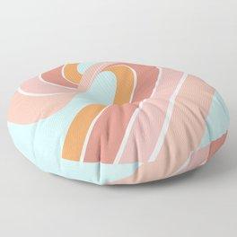 Slide into Summer Floor Pillow