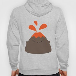 Happy Kawaii Volcano Hoody