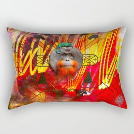 Save orangutans Rectangular Pillow