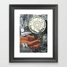 The Circle Never Ends Framed Art Print